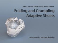 Folding And Crumpling Adaptive Sheets U C Berkeley