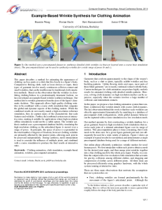 interactive simulation of rigid body dynamics in computer graphics pdf